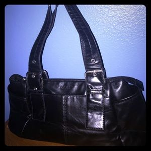 Reaction by Kenneth Cole Black Handbag